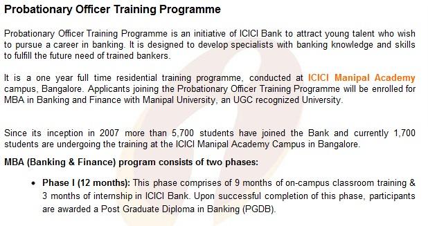 ICICI Bank_PO